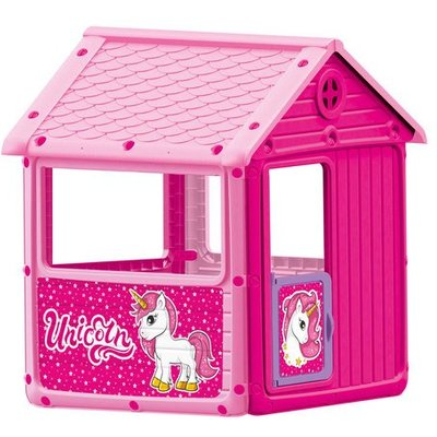 Dolu Unicorn Themed Playhouse (H125cm)| Indoor Or Outdoor Use