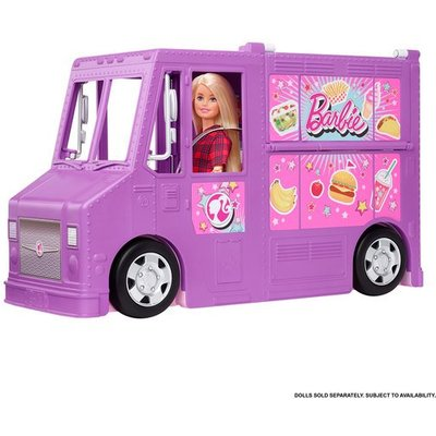 Barbie You Can Be Anything Fresh 'n' Fun Food Truck Playset