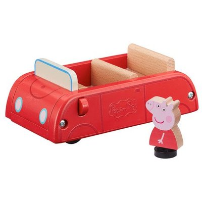 Peppa Pig Wooden Vehicle - Family Car