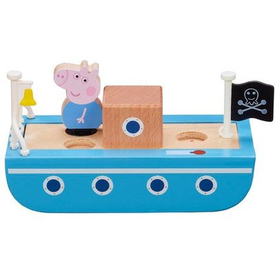 Peppa Pig Wooden Boat Playset