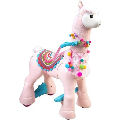 Feber My Lovely Llama Ride-On With Realistic Movements & Customisable Features
