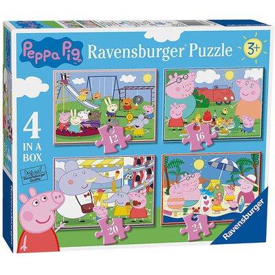 Ravensburger 4 in a Box Jigsaw Puzzle - Peppa Pig