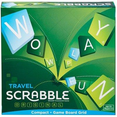 Travel Scrabble Original Compact Board Game