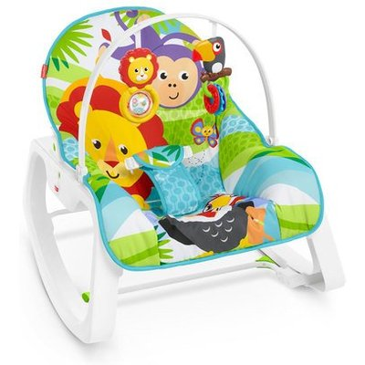 Fisher-Price Infant-To-Toddle Rocker Chair - Safari