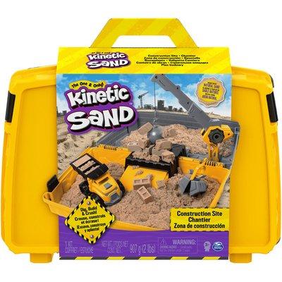 Kinetic Sand Construction Side Sand Box