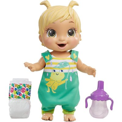 Baby Alive Baby Gotta Bounce Doll (Blonde hair)
