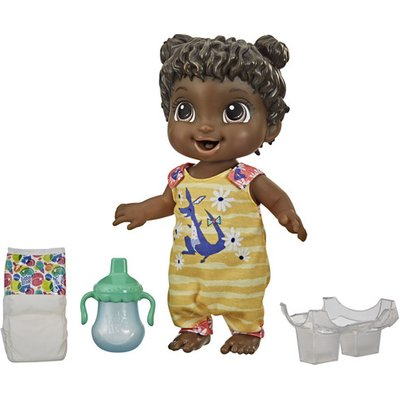 Baby Alive Baby Gotta Bounce Doll (Brown hair)