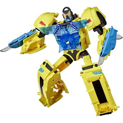 Transformers Cyberverse Adventures: Battle Call Lights and Sounds Bumblebee Figure