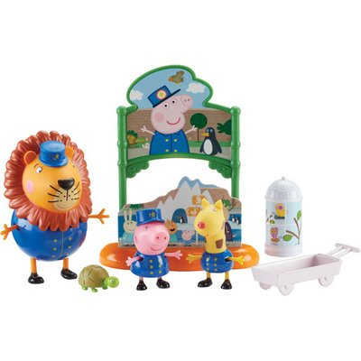 Peppa Pig Day At The Zoo Playset