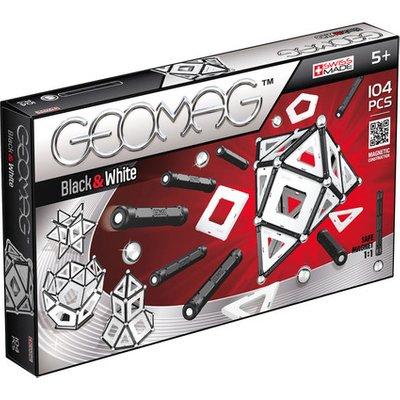 Geomag Classic Black & White Construction Set – 104pc