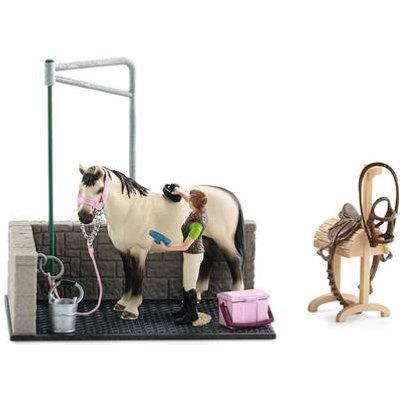 Schleich Horse Club Horse Wash Area Playset