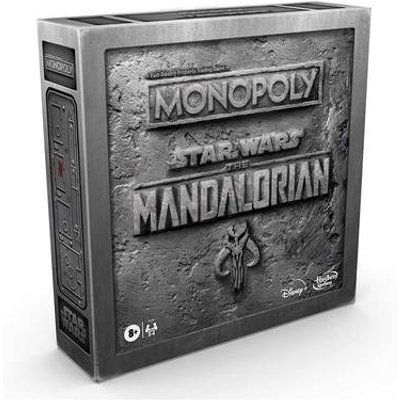 """Monopoly: Star Wars The Mandalorian Edition Board Game, Protect The Child ('Baby Yoda') From Imperial Enemies"""