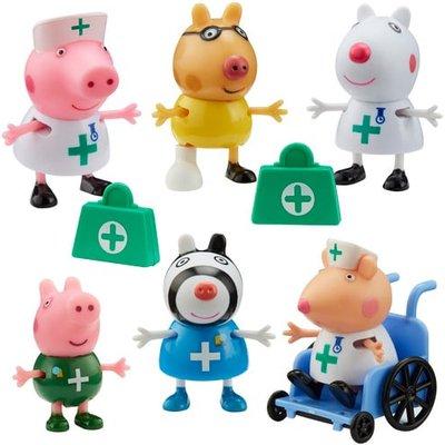 Peppa Pig - Doctors & Nurse Figures