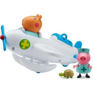 Peppa Pig - Dr Hamster Veterinary Plane