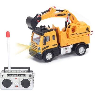 Remote Control 1:64 Digger Truck