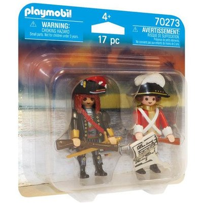 Playmobil 70273 Pirate and Redcoat Duo Pack