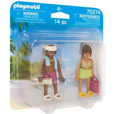Playmobil 70274 Vacation Couple Duo Pack