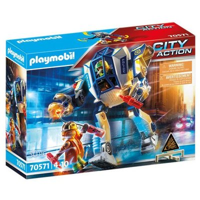 Playmobil 70571 City Action Police Special Operations Police Robot