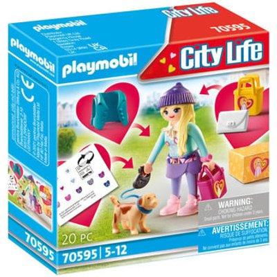 Playmobil 70595 City Life Fashionista with Dog