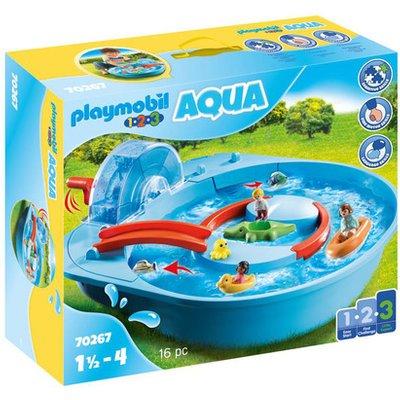 Playmobil 70267 1.2.3 Aqua Splish Splash Water Park Playset