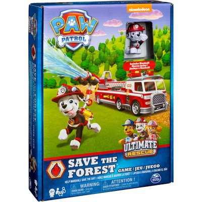Paw Patrol Save the Forest - Family Board Game