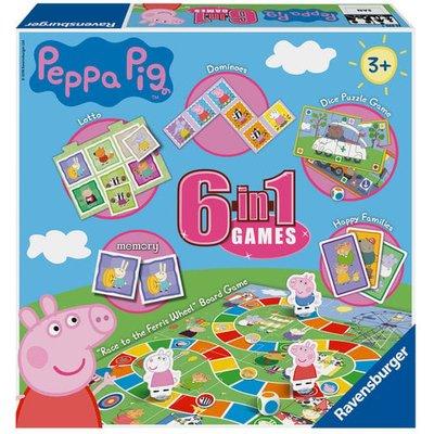 Ravensburger 6 in 1 Peppa Pig Jigsaw Puzzel