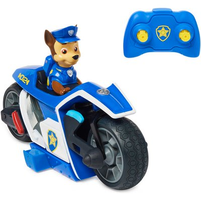 Paw Patrol Movie Remote Control Motorcycle - Chase