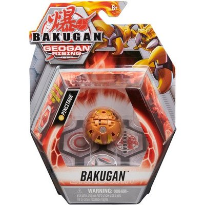 Bakugan: Geogan Rising - 1pk Series 3 Core Ball Collectible Action Figure and Trading Cards (Styles Vary)