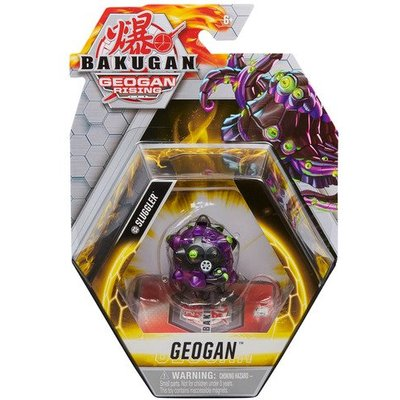 Bakugan: Geogan Rising - 1pk Series 3 Collectible Action Figure and Trading Cards (Styles Vary)