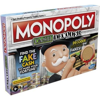Monopoly Crooked Cash Board Game