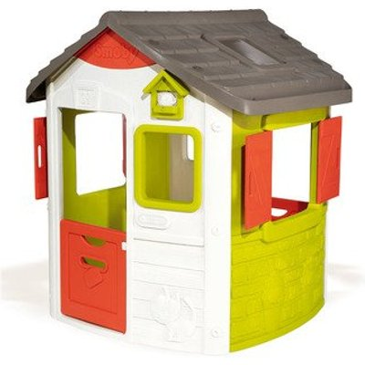 Smoby Neo Jura Lodge Playhouse H132cm