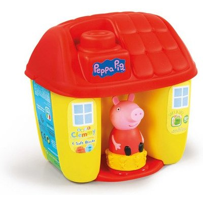 Soft Clemmy - Peppa Pig Bucket House With Soft Blocks