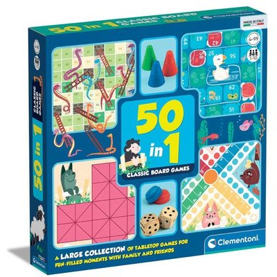 50-In-1 Classic Board Games Collection