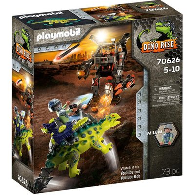 Playmobil 70626 Dino Rise Saichania: Invasion of the Robot Playset