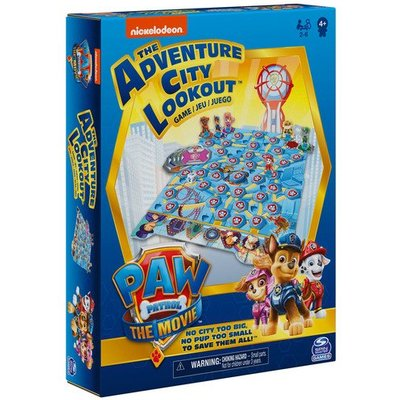 Paw Patrol: The Movie - The Adventure City Lookout Board Game