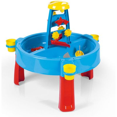 Dolu Kids 3-in-1 Sand & Water Pit with Drawing Table Outdoor Toys Garden Multi function Play Station Desk Colouring