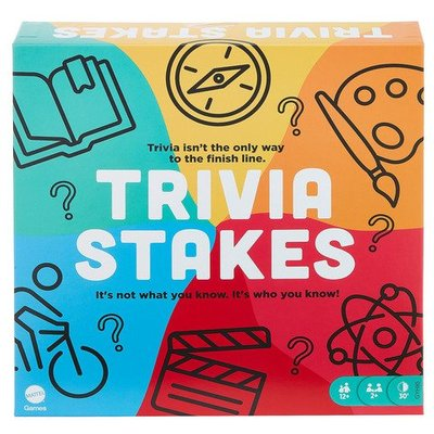Trivia Stakes Board Game