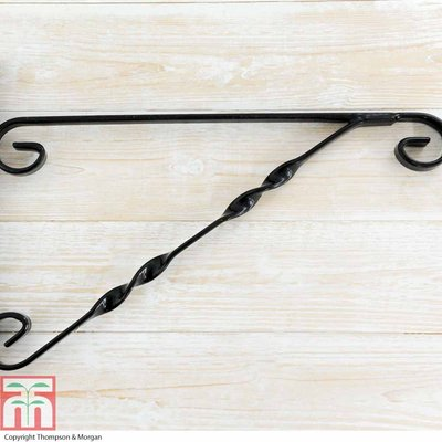Black Heavy Duty Hanging Basket Bracket