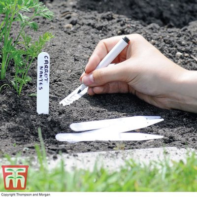 Garden Essentials Plastic Plant Label & Pen
