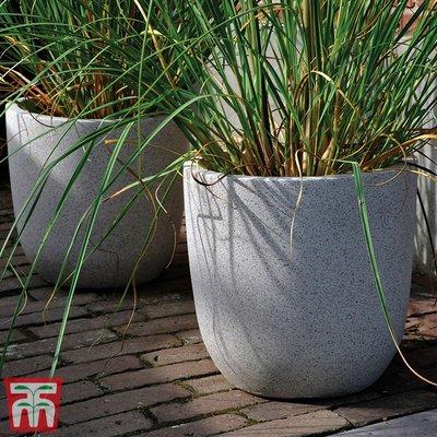 Fibre Clay Granito Round Pot Set