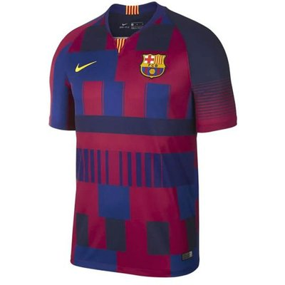2018-2019 Barcelona Anniversary Nike Football Shirt