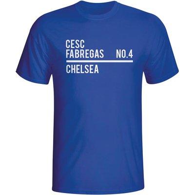 Cesc Fabregas Chelsea Squad T-shirt (blue)