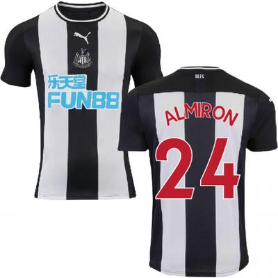 2019 2020 Newcastle Home Football Shirt  ALMIRON 24  - 5059310251256
