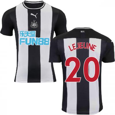 2019 2020 Newcastle Home Football Shirt  LEJEUNE 20  - 5059310191187