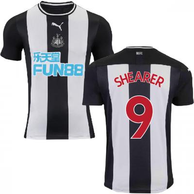 2019 2020 Newcastle Home Football Shirt  SHEARER 9  - 5059310619490