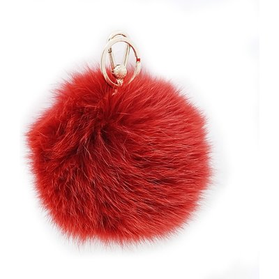 Furla Bubble Keyring - Ruby Red