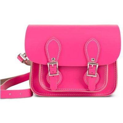 Gweniss Freya Mini Satchel - Bright Pink