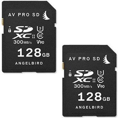 Angelbird AVpro MATCH PACK for Panasonic EVA1  2x SDXC 128GB  - 9120056583638