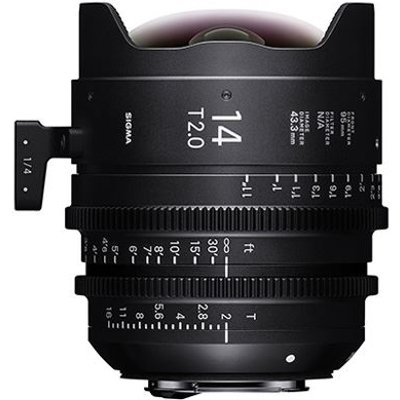Sigma Cine 14mm T2 FF Lens Fully Luminous - Canon Mount