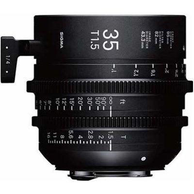 Sigma Cine 35mm T1.5 FF Lens - PL Mount